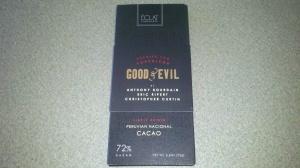 Good & Evil Chocolate Bar